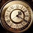 Old antique clock — Stock Photo