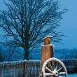 Beautiful winter scenic - Stockfoto