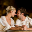 Young couple in love - Foto Stock