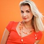 Young beautiful woman close-up portrait — Stock Photo #4744275