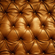 Sepia picture of genuine leather upholstery — Foto de Stock