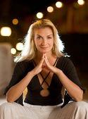 Beautiful thoughtful woman — Stock Photo