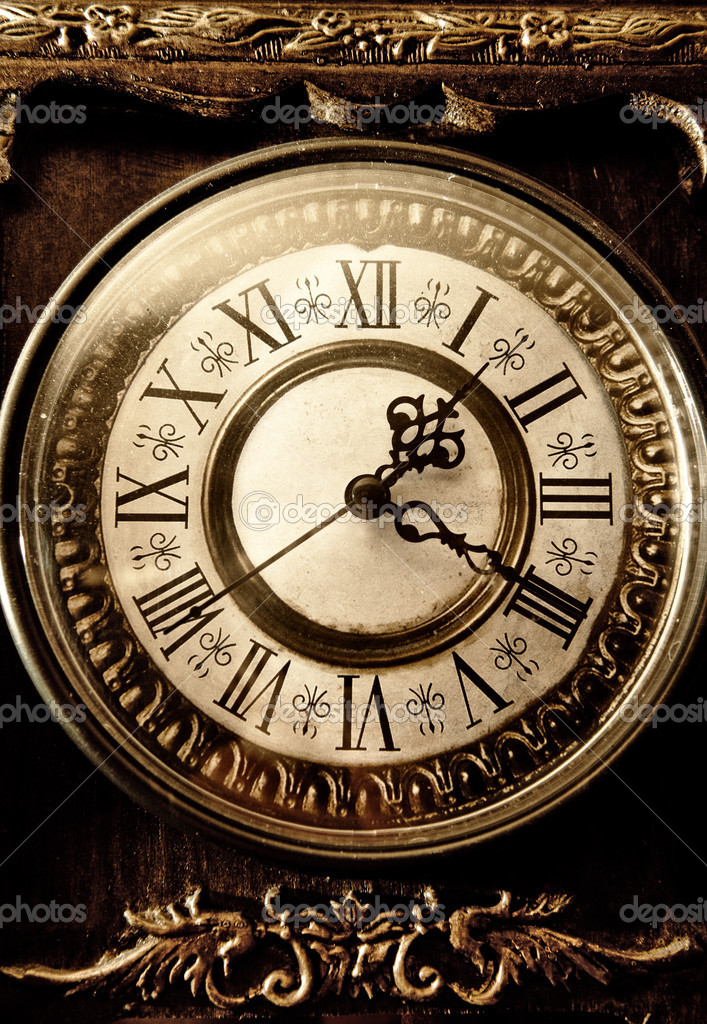 Old Antique Clock Stock Photo 169 Nejron 4744054