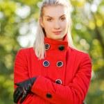 Beautiful romantic blond close-up portrait — Stock Photo #4783676