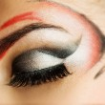 Creative eye paint — Stock Photo #4783923