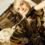 Beautiful woman soldier — Stock Photo #4784067