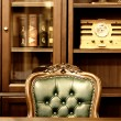 Luxury cabinet design - Stock Photo