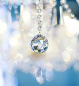 Détail de lampe vintage Crystal (shallow Dof) — Photo