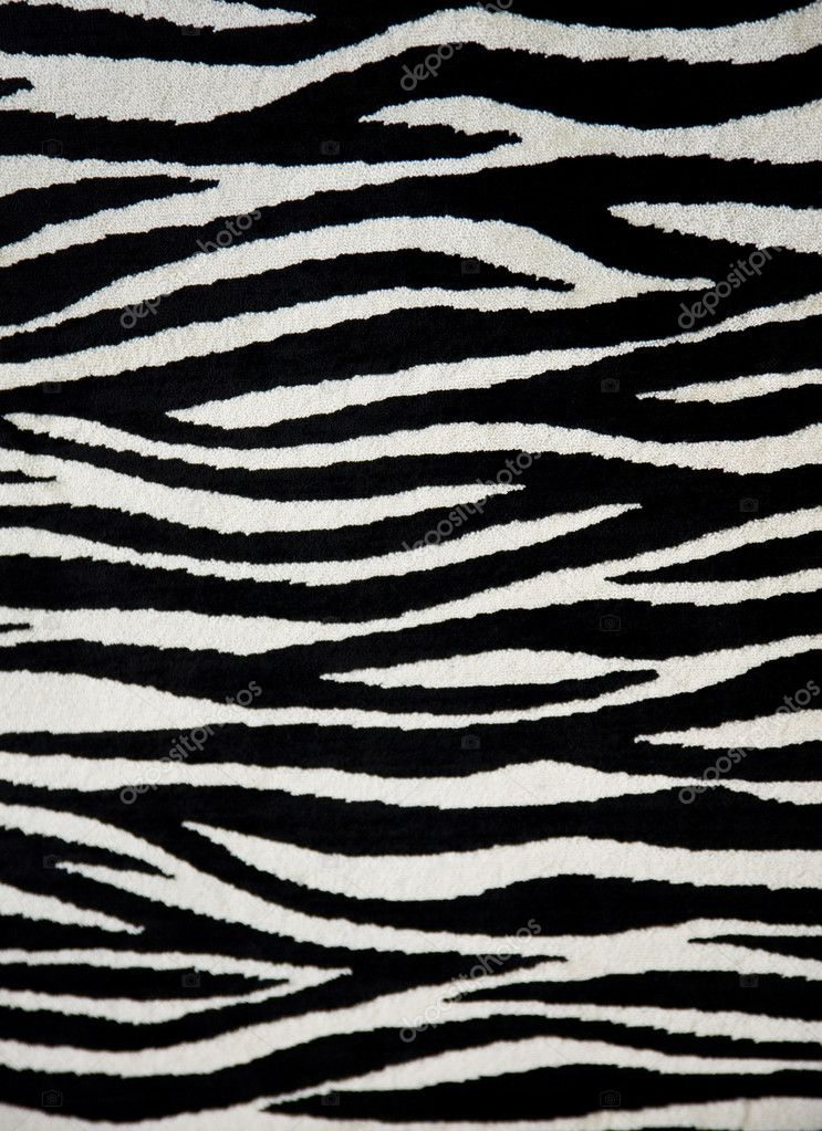 Zebra fabric texture — Stock Photo #4784222
