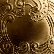Vintage antique metal frame - Stock Photo