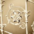Vintage metal decoration — Stock Photo