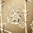Stock Photo: Vintage metal decoration