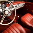Luxury car interior - Foto Stock