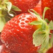 Ripe strawberries - Stock Photo