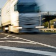 Fast moving truck — Stock Photo #4804144