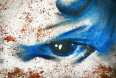 Abstract graffity background — Stock Photo