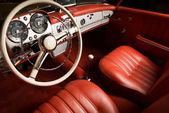 Luxury car interior — Stock fotografie