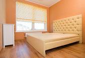 Nowoczesna sypialnia wnętrza — Zdjęcie stockowe