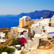 Beautiful landscape view (Santorini Island, Greece) — Stock Photo