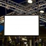 Big blank screen — Stock Photo #4839872