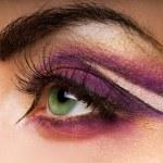 Creative eye paint — Stock Photo #4839996