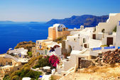 Beautiful landscape view (Santorini Island, Greece) — Stockfoto