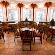 Classic restaurant interior - Foto Stock