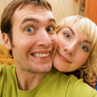 Funny couple — Stock Photo #4903329