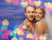 Enkel echtpaar — Stockfoto