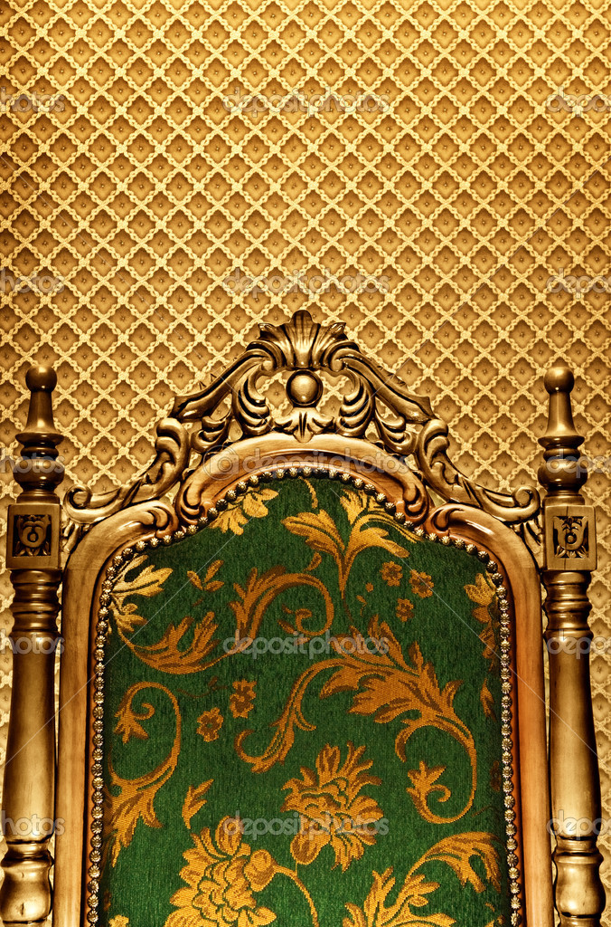 Luxury royal chair  Stock Photo #4903023
