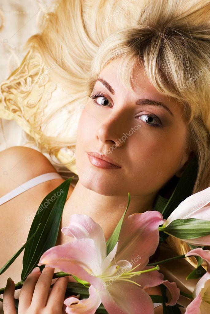 Красивая девушка лиля