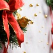 Abstract Christmas decoration — Stock Photo
