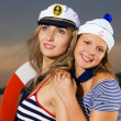 Stock Photo: Sexy ship crew