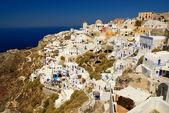 Beautiful landscape view (Santorini Island, Greece) — Stockfoto
