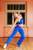 Modern dance trainer — Stock Photo