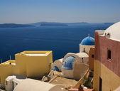 Beautiful view of Santorini Island (Greece) — Stockfoto