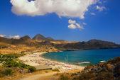 Beautiful scene at the beach — Stock Photo