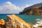 Beautiful sea scenic — Stock Photo