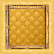 Abstract luxury golden border — Stock Photo