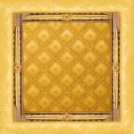Abstract luxury golden border — Stock Photo #5097827