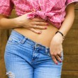 Sexy girl's torso — Stock Photo #5098129