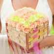 Luxury bouquet of roses — Stock Photo