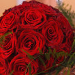 bouquet de roses rouges — Photo #5098240