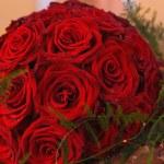 bouquet de roses rouges — Photo