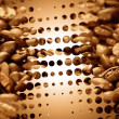 Abstract coffee background - Photo