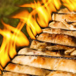 Chicken barbeque — Stock Photo