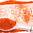 Spice frame — Stock Photo #5098437