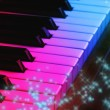 Magic piano - Stock Photo