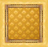 Abstract luxury golden border — Stock Photo