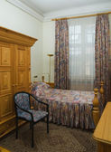 Hotel single room — Stock Photo